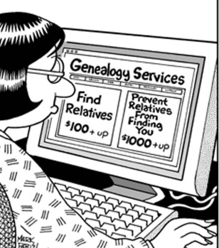 genealogy cartoon